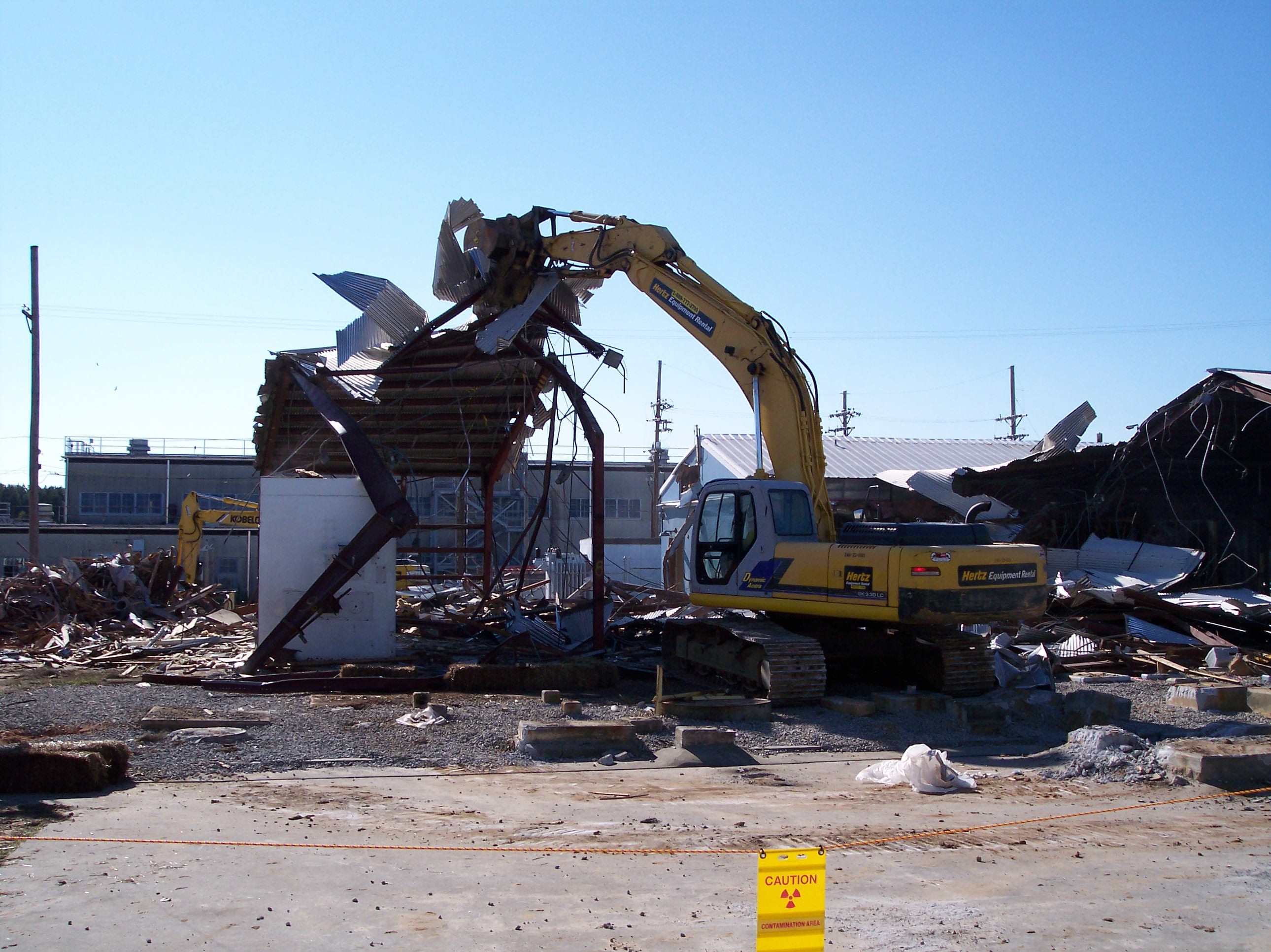Radiological Demolition | Capital Energy Group, LLC | Demolition, Construction, Remediation